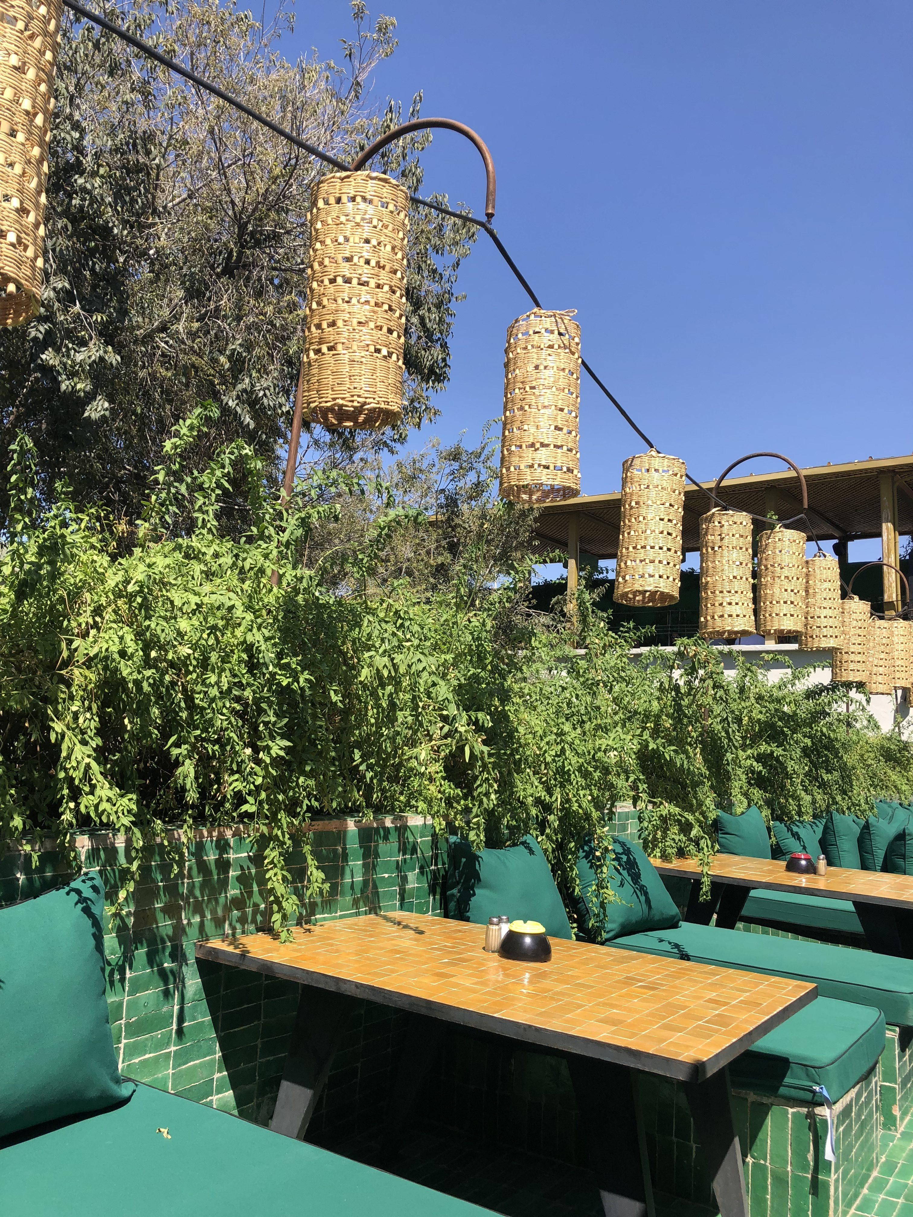 le-jardin-dejeuner-marrakech